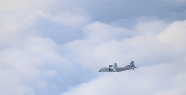 殲16戦闘機,H6爆撃機,台湾国防部,台湾有事,台湾海峡,台湾防空識別圏,戦闘機,空戦,,