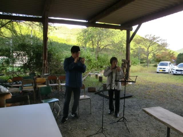 五水井さん「オカリナの里」+石坂