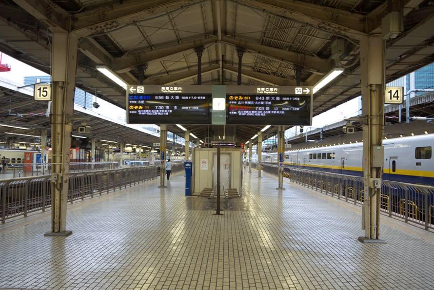 東京駅、東海道本線の停車位置|エスカレーターや …