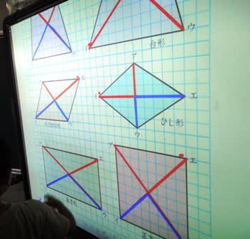 対角線の学習 ますます算数