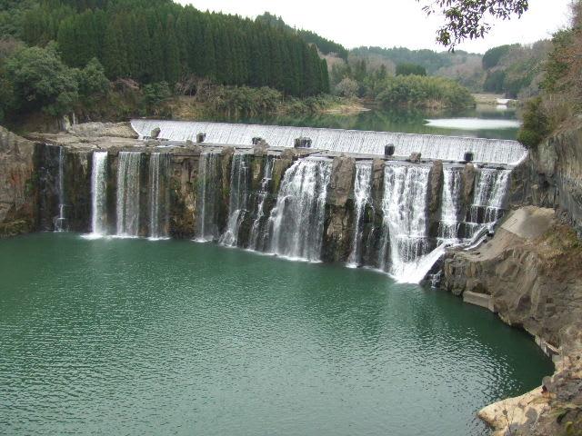 大分県 大野市にある沈堕の滝 - ...