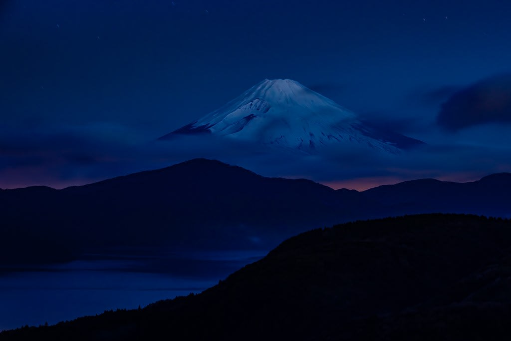 富士山の写真