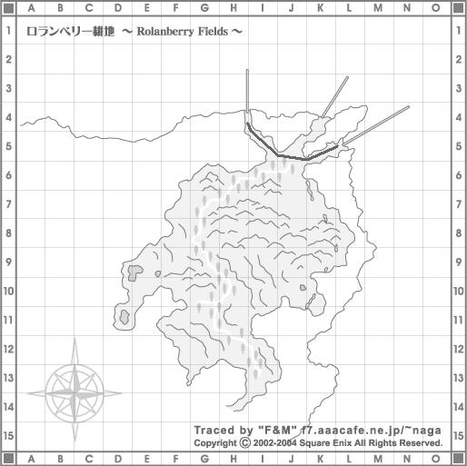 ロランベリー耕地地図
