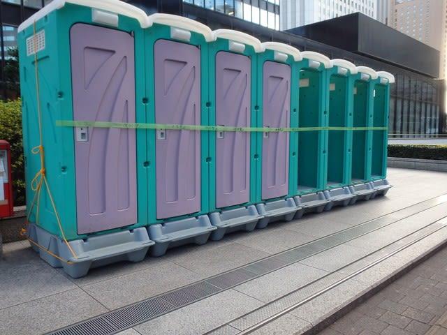 東京マラソン 2017マラソンコースmap 仮設トイレイベントトイレ