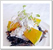 ヒジキと南瓜のサラダ