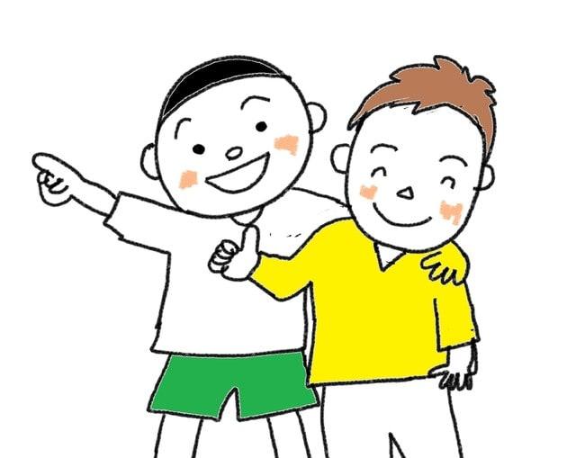 31課 意向形 しよう スーザンの 日本語教育 手描きイラスト