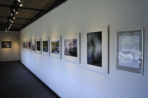 徳田貞子写真展・ギャラリーの様子