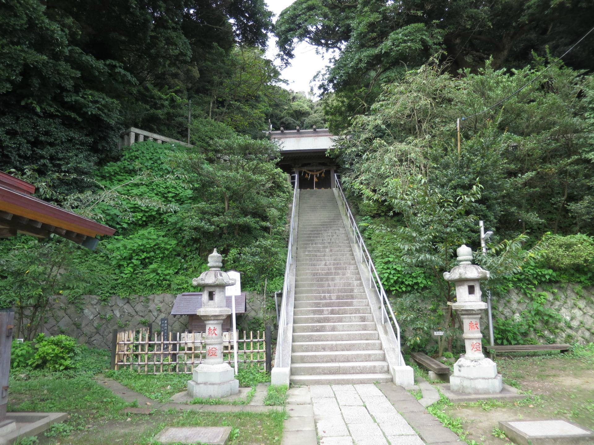 鎌倉を知る ーー 甘縄神明神社 ...