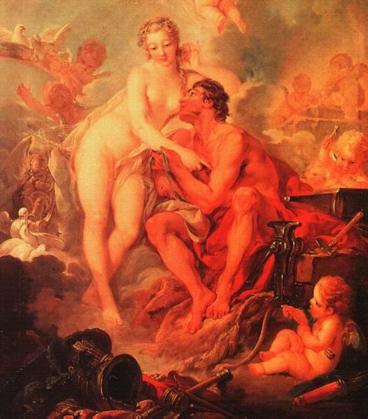 Besuch der Venus bei Vulkanus