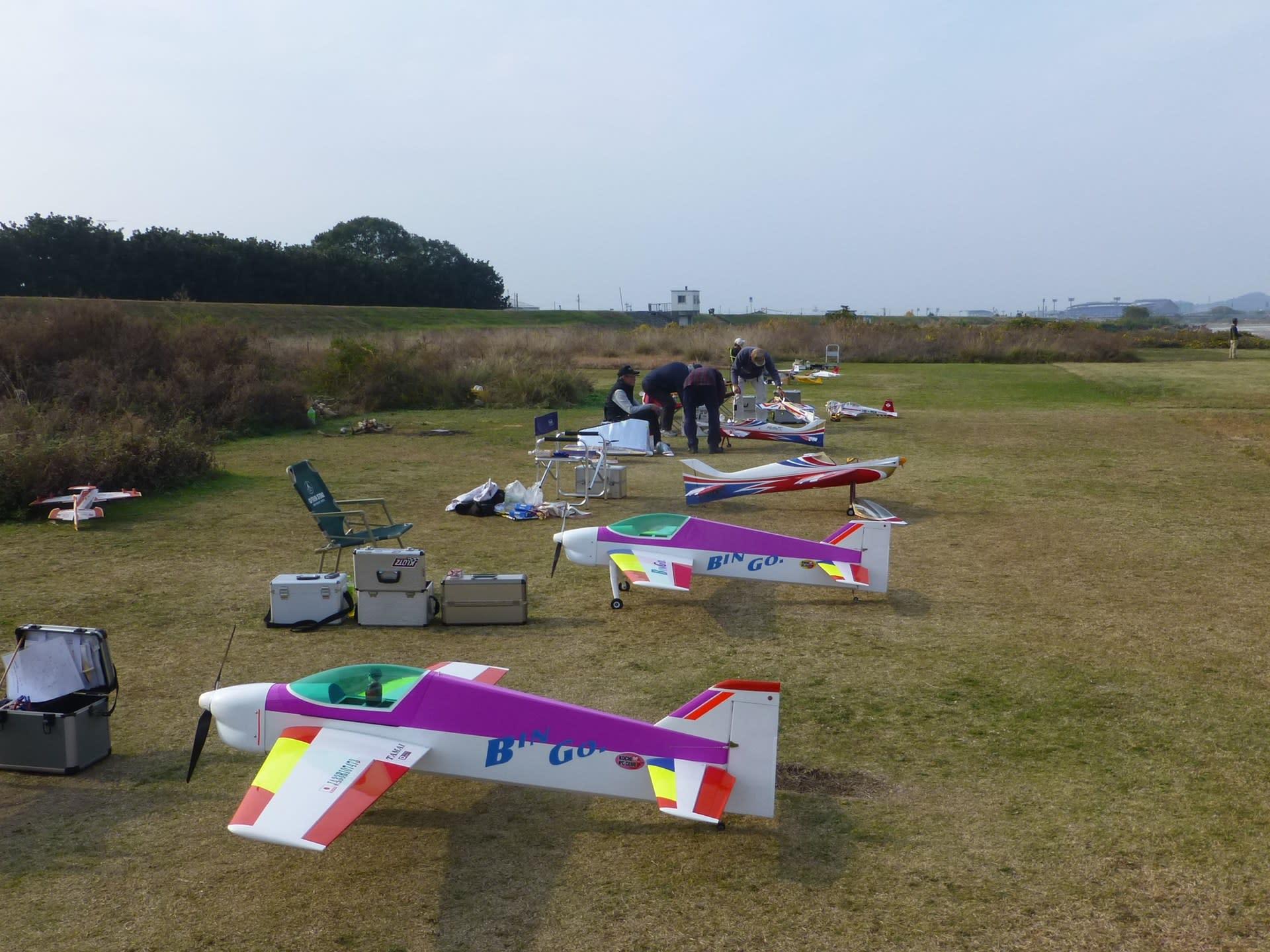 12月2日 おだやかな天気で皆さんRCを堪能 - 愛媛の田舎でRC飛行機 F3A ...