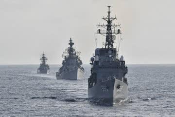 インド海軍,海上自衛隊,遠洋練習航,海米海軍,シンガポール海軍,海戦,戦艦,護衛艦,乗り物,乗り物のニュース,乗り物の話題,