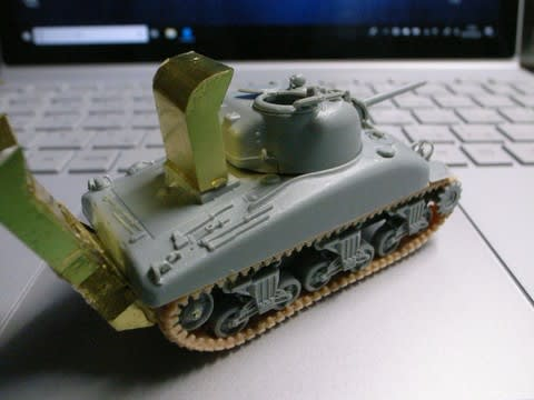 DD戦車(1/72)を作る - 毎日の日記
