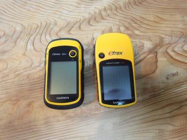 1418f18f9f 石鎚山 登山の際、新型eTrex10J 旧型、VENTURE HCを同時に軌跡を取得して検証テストしました。