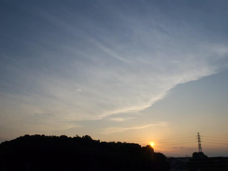 05月28日 根岸台の夕陽