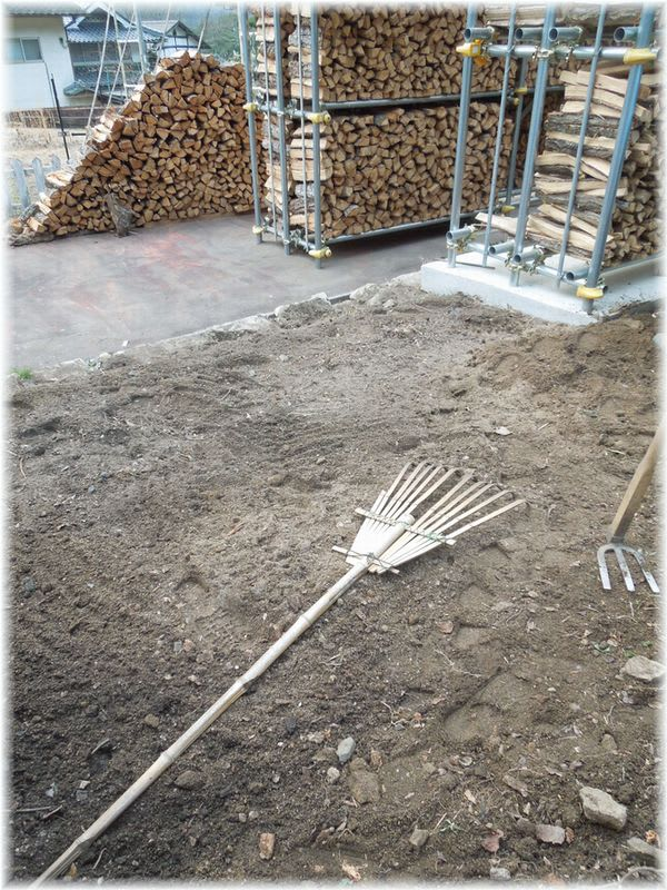 堆肥置き場