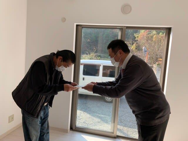 岡山市片山さんの新築お引き渡しの写真です。 | 岡山市で新築一戸建てを建てるならサンブランドハウス