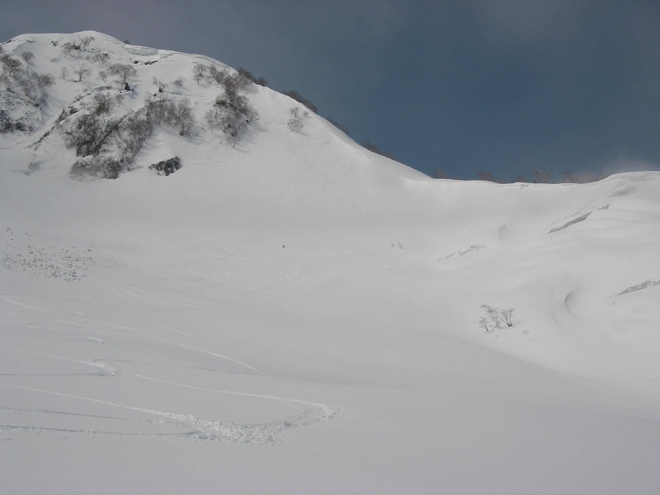 スキー日記-50日目-火打山・黒菱岳 - My favorite things-white, white!