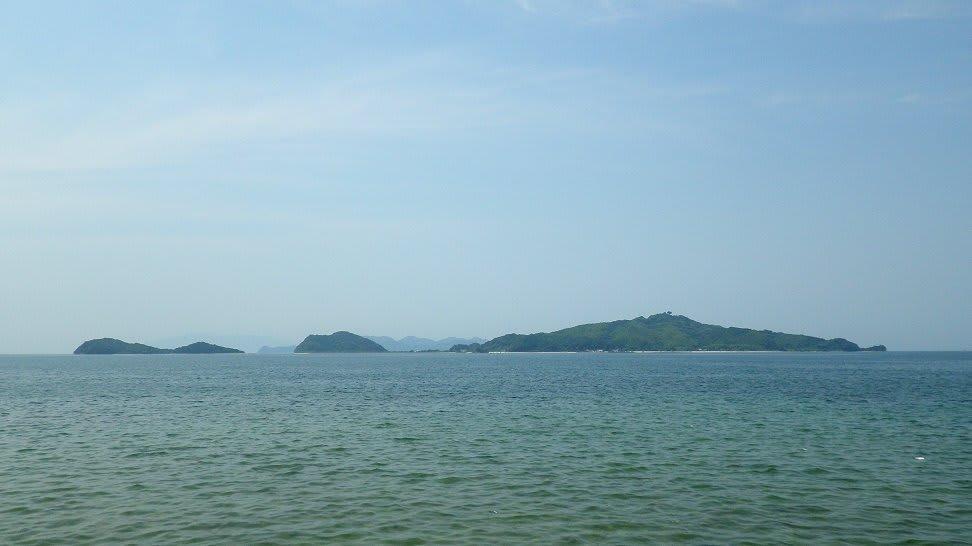 田布施町 馬島 はね島 - 山口県東部 瀬戸の海