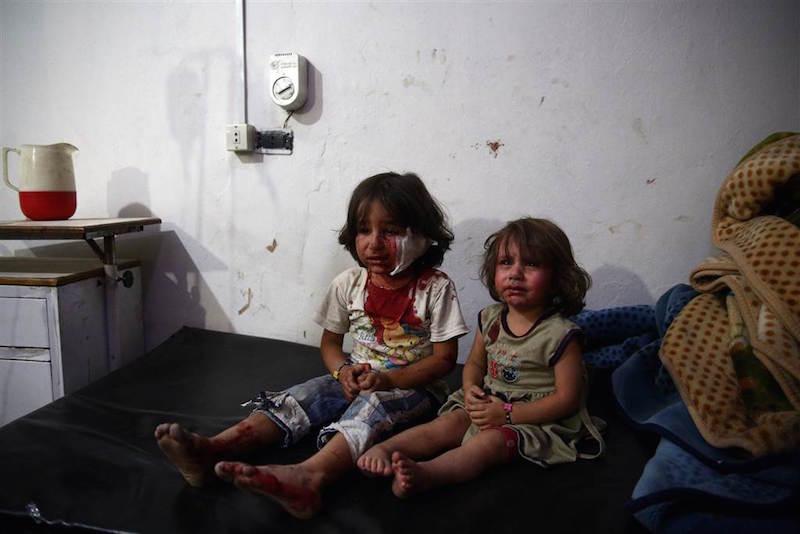 シリアの民間人死亡率と難民危機。 - 世界メディア・ニュースとモバイル・マネー