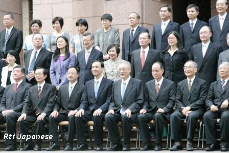 呉敦義・新内閣発足から一週間 -...