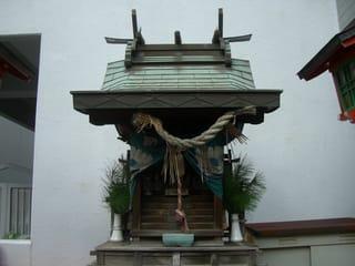 福山空襲で焼失を免れた稲荷神社3