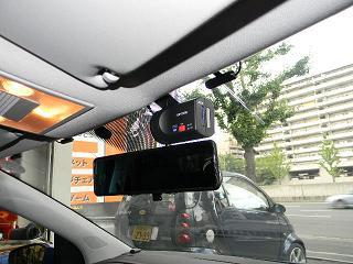 Polo 6rにドライブレコーダー、リアビューの取り付け。 ★ねばらんブログ★ 欧州車 Benz Bmw Vw