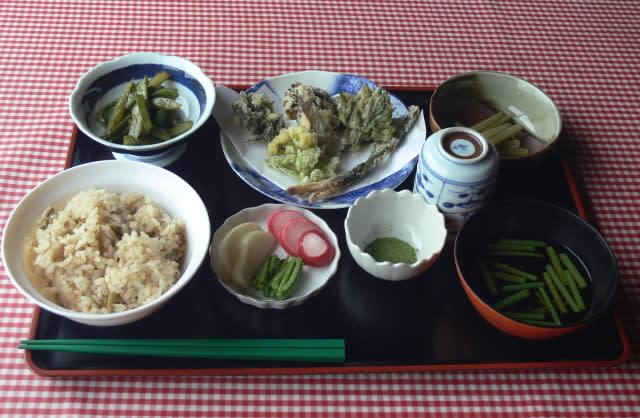 冨士見山菜定食 1500円