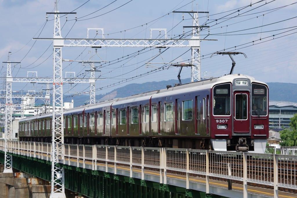 阪急9300系京都線特急