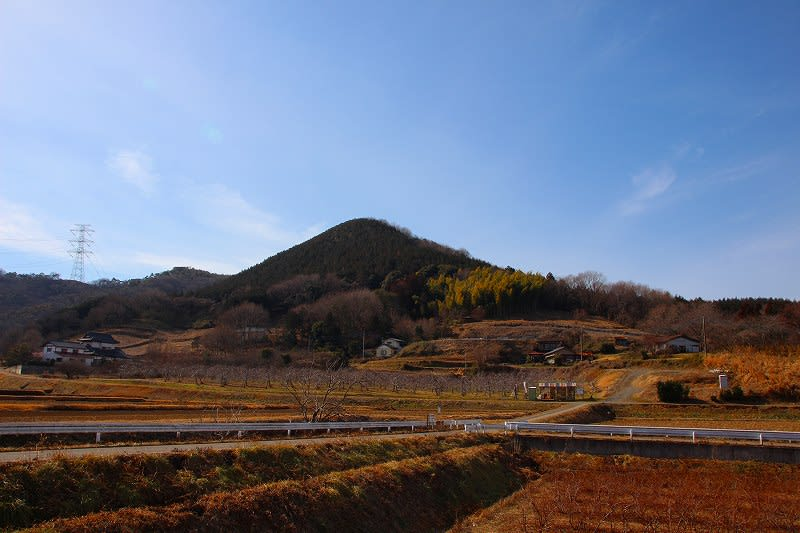 益子町 大郷戸の風景 25.2.5 - 栃木の木々