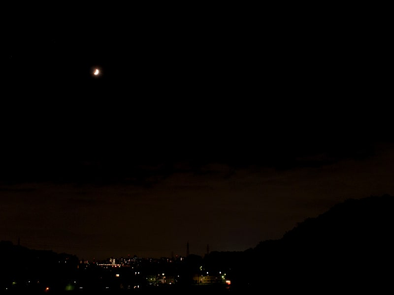 08月31日 根岸台の夜