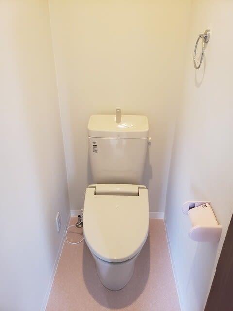 土佐市で新築を建てたKさん邸のトイレの完成写真です。