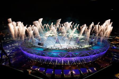2012年ロンドンオリンピックの開...