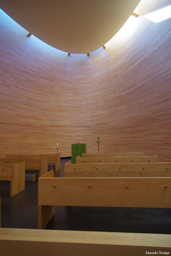 カンピ礼拝堂の内部