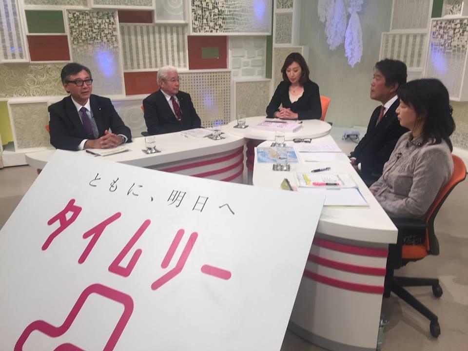 福井テレビの番組収録。なんと自...