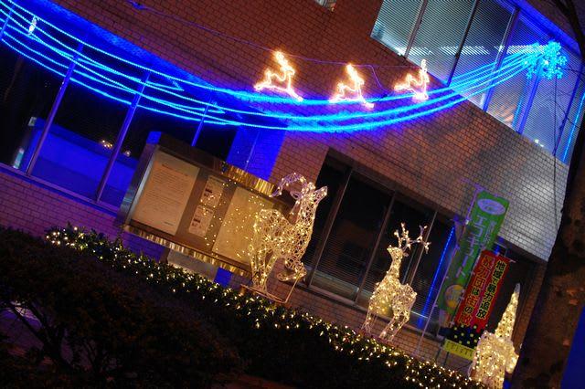 街角クリスマスイルミネーション