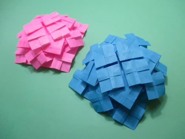 創作折り紙の折り方・・・