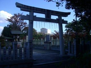 徳歳神社の鳥居
