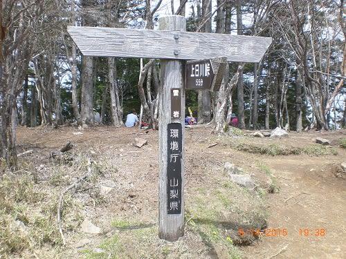 新緑の大菩薩峠を歩く - 青い空...