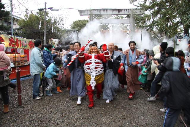豊橋の鬼祭 (日本の祭 其の3) - 竹内しげやす 市政チャレンジ日記
