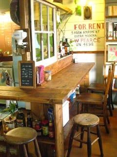 DIYでカフェカウンター。 - olivecafe's blog