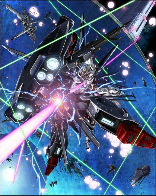 機動戦士ガンダムseed Hdリマスター Blu Ray Box 1ジャケットイラスト