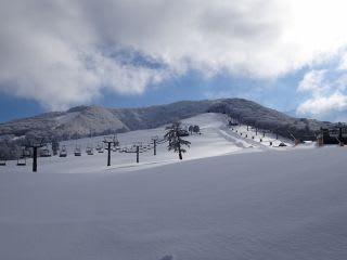 スキー場。事務所から此処に辿りつくまで、1時間半。