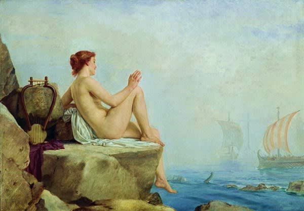 Edward Armitage The Siren