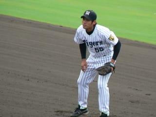 鳴尾浜球場で阪神-広島 - 国際学どうでしょう