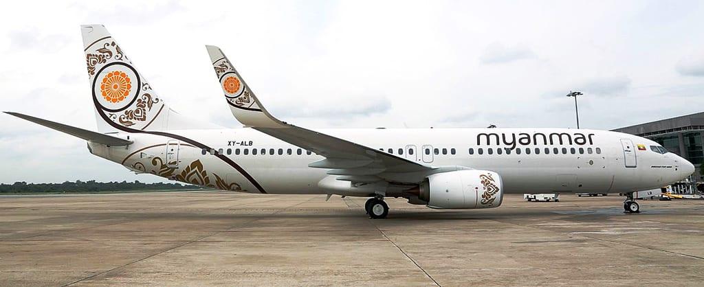 ミャンマーナショナル航空がヤン...