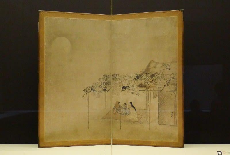 久隅守景 国宝《納涼図屏風》江戸時代・17世紀| …