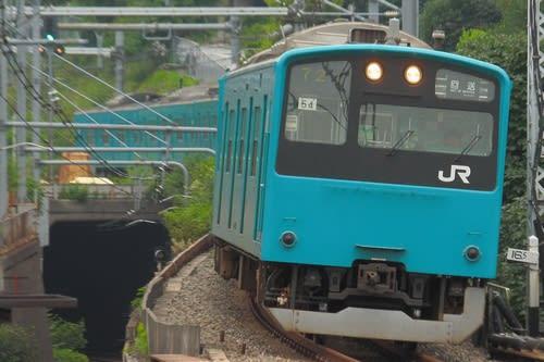 東日本201系の最後の自走
