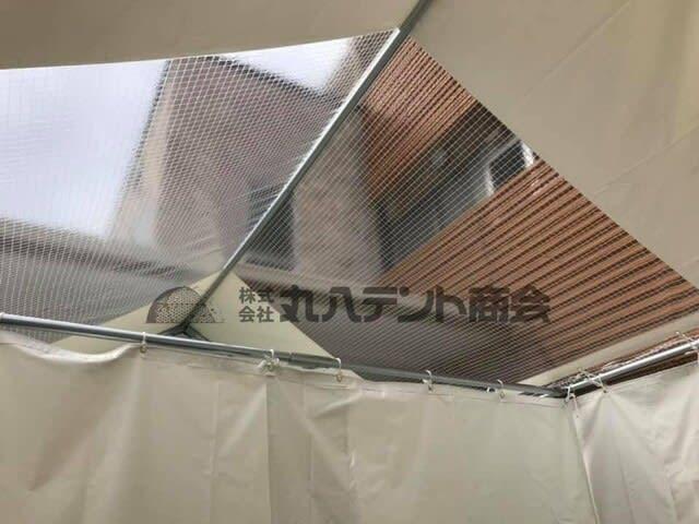 【医療現場で活躍期待の感染対策テントのご紹介!】