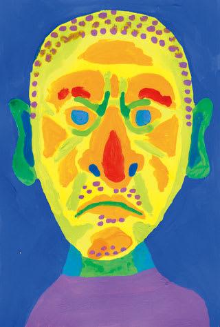松本人志の似顔絵イラスト画像