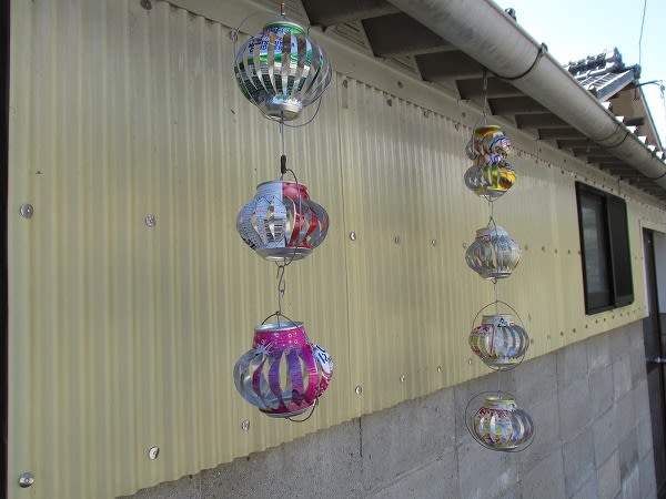 空き缶 風車